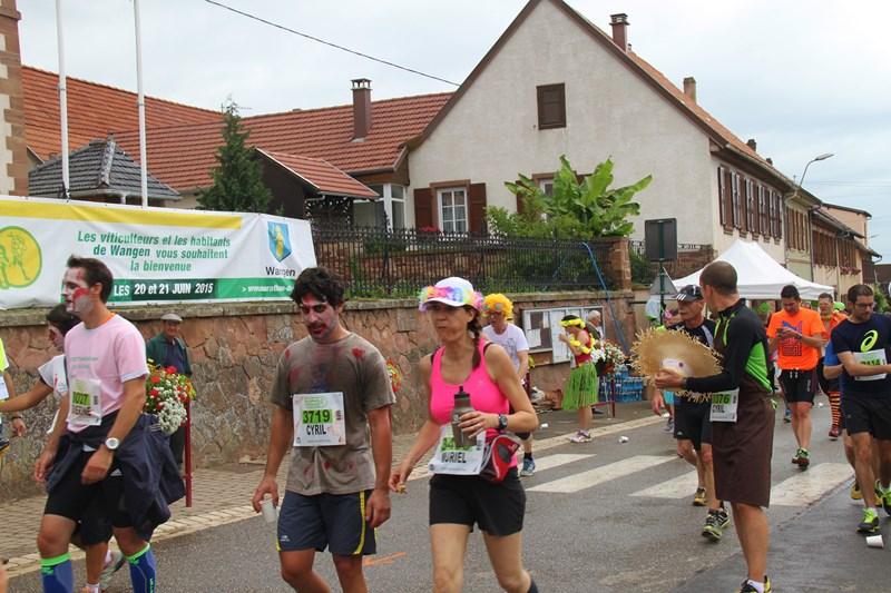 11 ème édition du Marathon du Vignoble d'Alsace et son passage à Wangen le 21 juin 2015 Img_8227