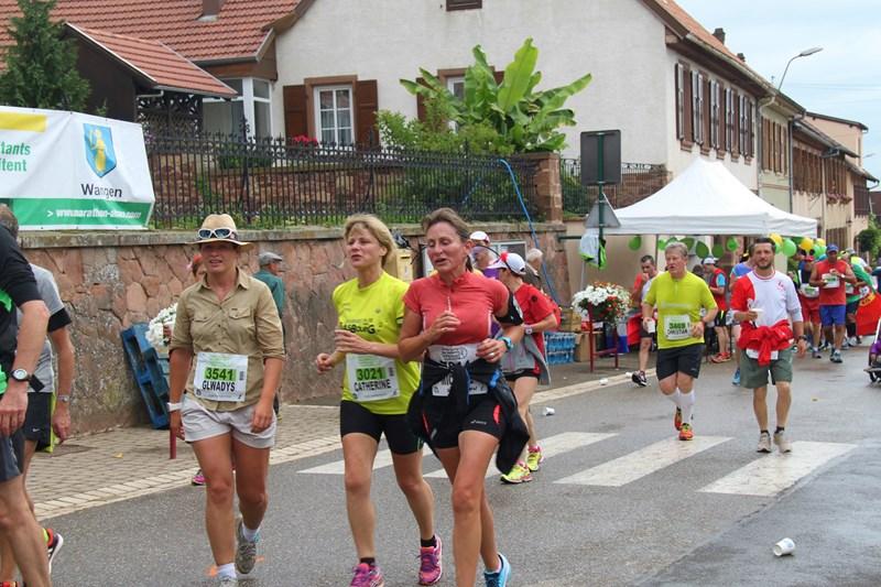 11 ème édition du Marathon du Vignoble d'Alsace et son passage à Wangen le 21 juin 2015 Img_8231
