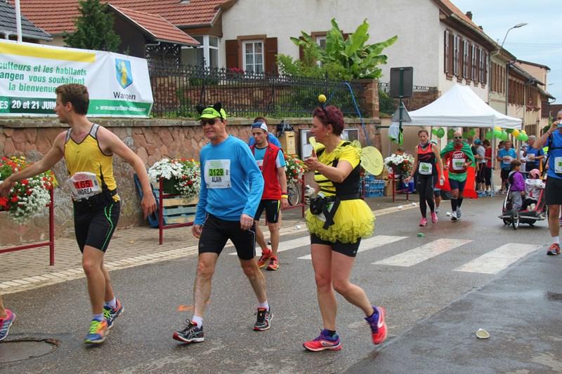 11 ème édition du Marathon du Vignoble d'Alsace et son passage à Wangen le 21 juin 2015 Img_8233