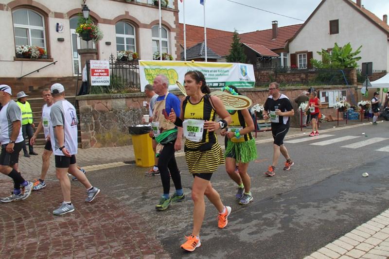 11 ème édition du Marathon du Vignoble d'Alsace et son passage à Wangen le 21 juin 2015 Img_8236