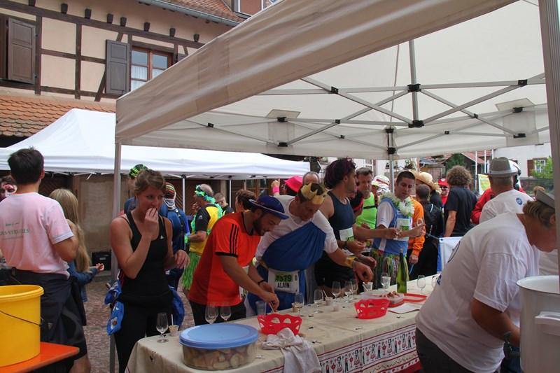 11 ème édition du Marathon du Vignoble d'Alsace et son passage à Wangen le 21 juin 2015 Img_8311