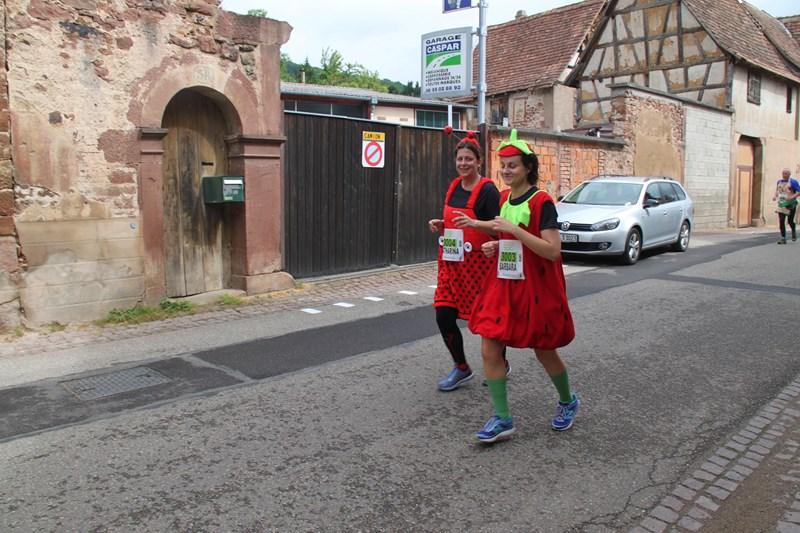11 ème édition du Marathon du Vignoble d'Alsace et son passage à Wangen le 21 juin 2015 Img_8314