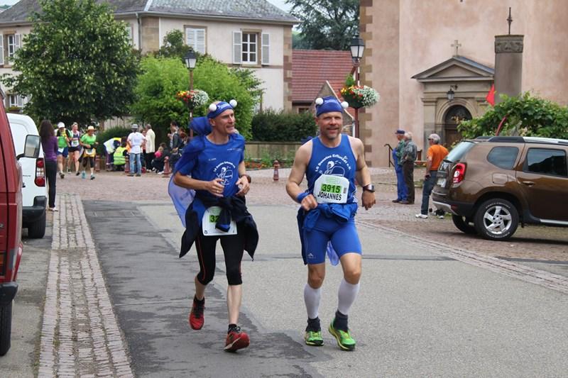 11 ème édition du Marathon du Vignoble d'Alsace et son passage à Wangen le 21 juin 2015 Img_8331