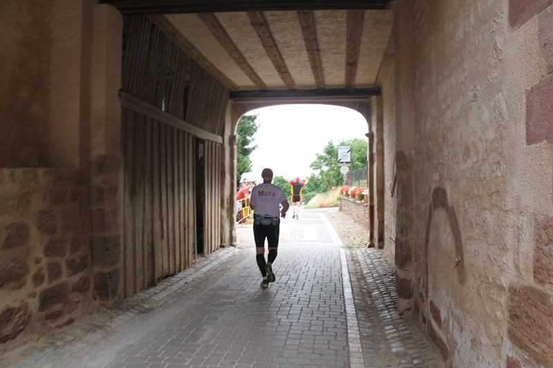 11 ème édition du Marathon du Vignoble d'Alsace et son passage à Wangen le 21 juin 2015 Img_8335