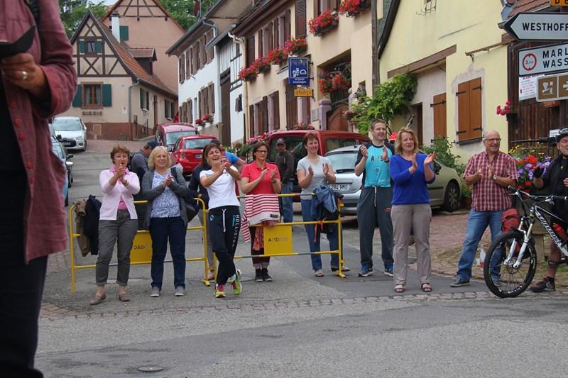 11 ème édition du Marathon du Vignoble d'Alsace et son passage à Wangen le 21 juin 2015 Img_8337