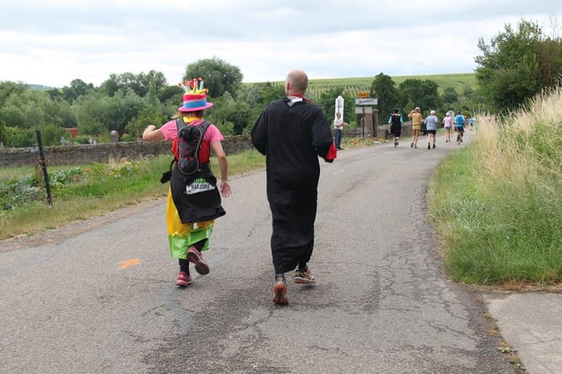 11 ème édition du Marathon du Vignoble d'Alsace et son passage à Wangen le 21 juin 2015 Img_8341