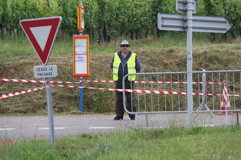 11 ème édition du Marathon du Vignoble d'Alsace et son passage à Wangen le 21 juin 2015 Img_8348