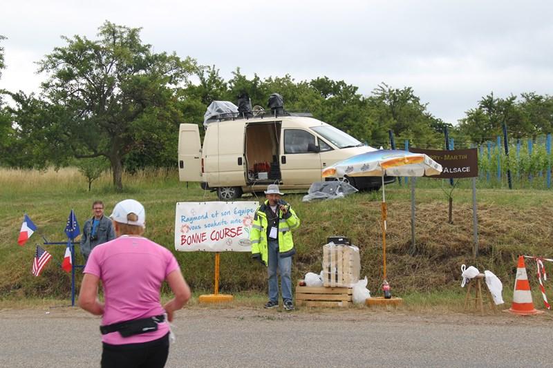 11 ème édition du Marathon du Vignoble d'Alsace et son passage à Wangen le 21 juin 2015 Img_8350