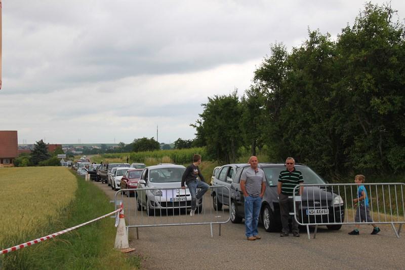 11 ème édition du Marathon du Vignoble d'Alsace et son passage à Wangen le 21 juin 2015 Img_8410