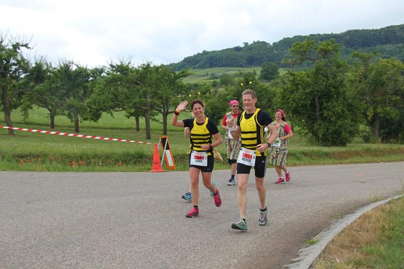 11 ème édition du Marathon du Vignoble d'Alsace et son passage à Wangen le 21 juin 2015 Img_8411