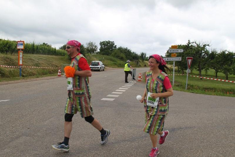 11 ème édition du Marathon du Vignoble d'Alsace et son passage à Wangen le 21 juin 2015 Img_8412