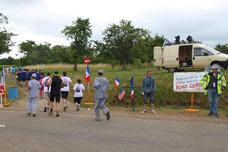 11 ème édition du Marathon du Vignoble d'Alsace et son passage à Wangen le 21 juin 2015 Img_8415