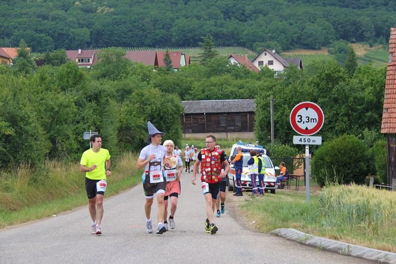11 ème édition du Marathon du Vignoble d'Alsace et son passage à Wangen le 21 juin 2015 Img_8428