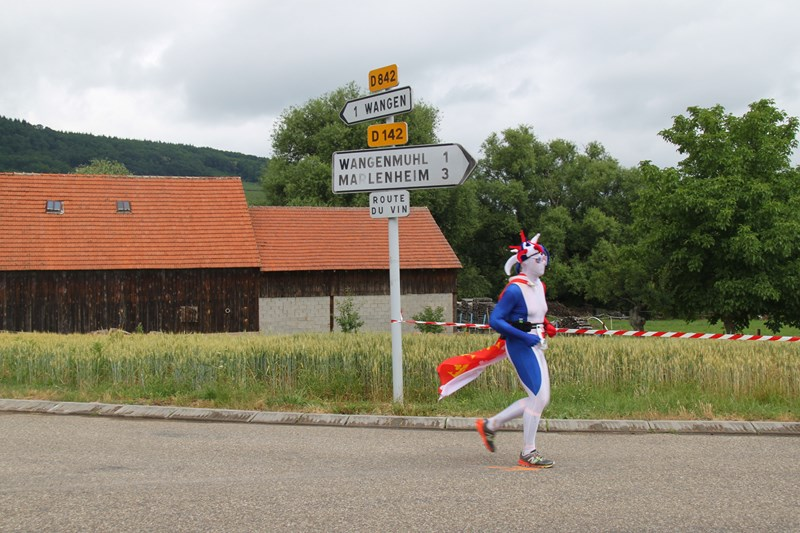 11 ème édition du Marathon du Vignoble d'Alsace et son passage à Wangen le 21 juin 2015 Img_8433