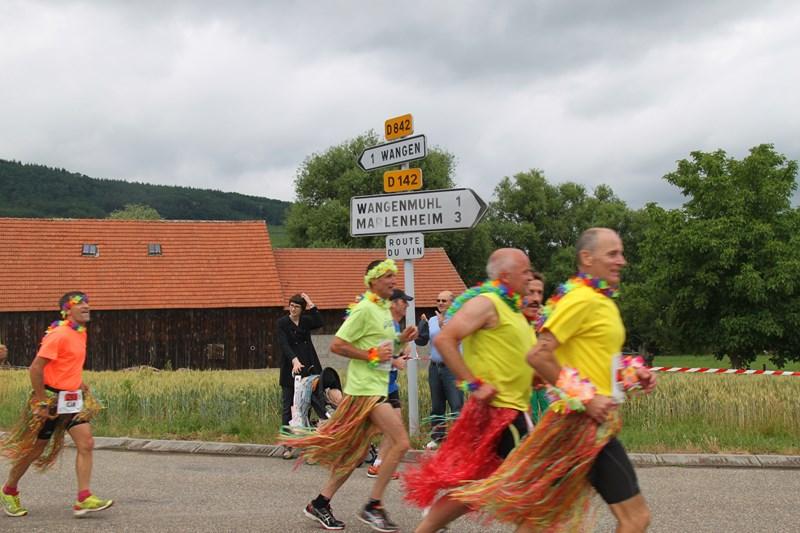 11 ème édition du Marathon du Vignoble d'Alsace et son passage à Wangen le 21 juin 2015 Img_8434
