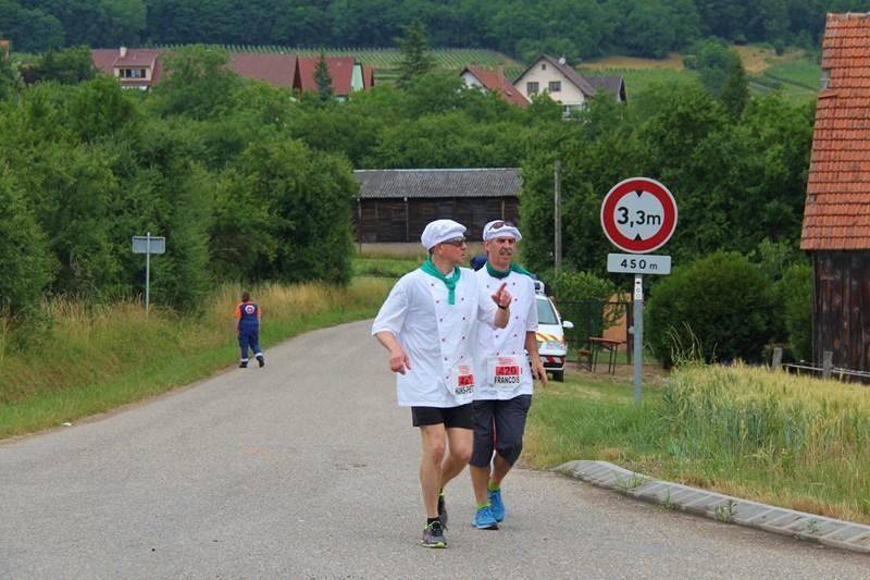 11 ème édition du Marathon du Vignoble d'Alsace et son passage à Wangen le 21 juin 2015 Img_8522