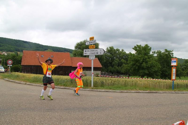 11 ème édition du Marathon du Vignoble d'Alsace et son passage à Wangen le 21 juin 2015 Img_8526