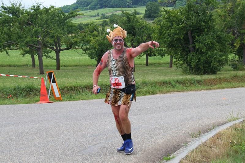 11 ème édition du Marathon du Vignoble d'Alsace et son passage à Wangen le 21 juin 2015 Img_8537