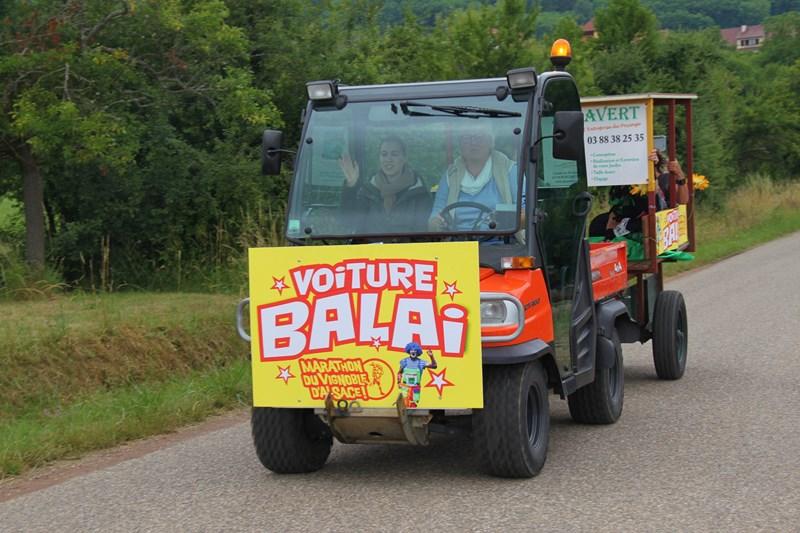 11 ème édition du Marathon du Vignoble d'Alsace et son passage à Wangen le 21 juin 2015 Img_8540