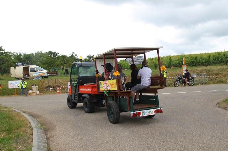 11 ème édition du Marathon du Vignoble d'Alsace et son passage à Wangen le 21 juin 2015 Img_8541