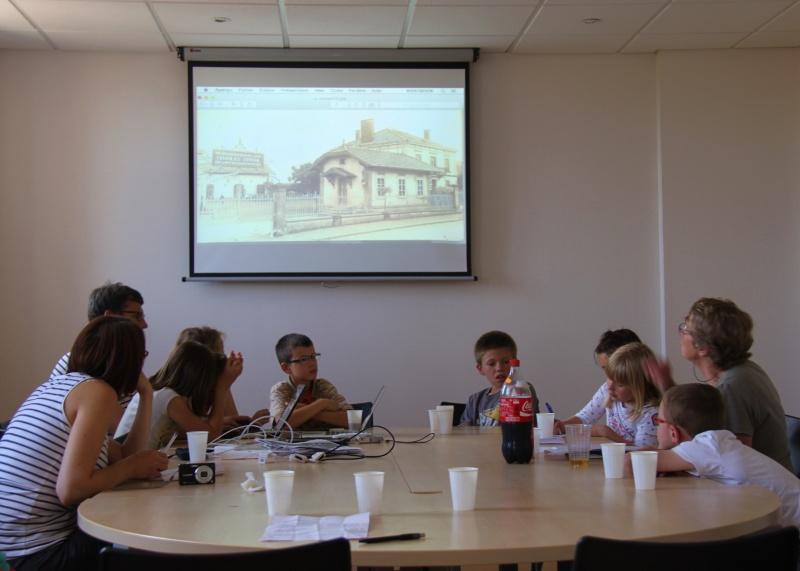"""Atelier photos """"Patrimoine rural de Wangen d'hier et d'aujourd'hui,avec le conseil municipal des enfants,  juin 2015 Img_8615"""
