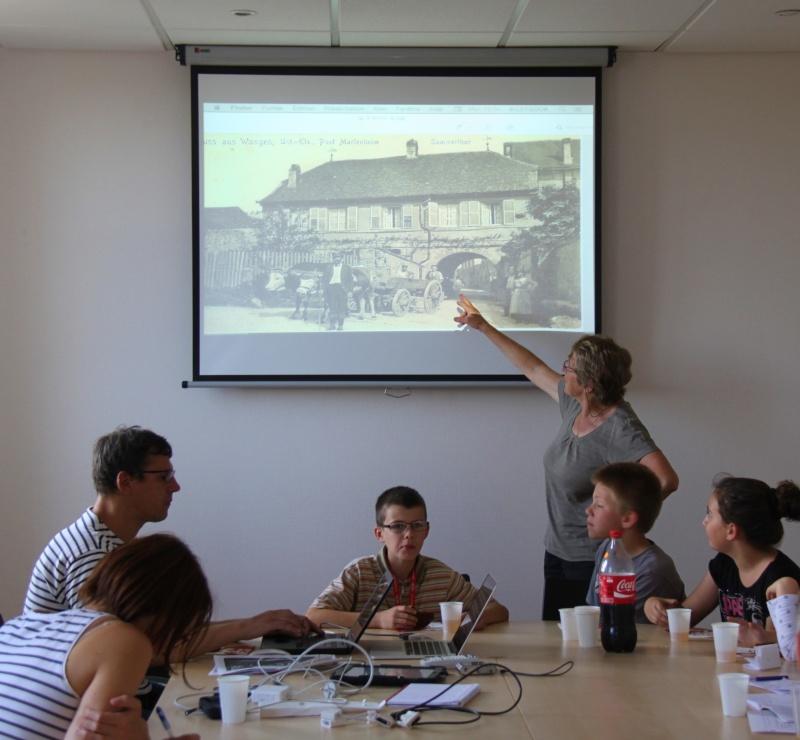 """Atelier photos """"Patrimoine rural de Wangen d'hier et d'aujourd'hui,avec le conseil municipal des enfants,  juin 2015 Img_8616"""