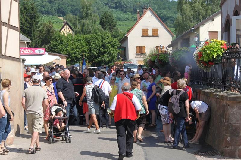 188 ème édition de la Fête de la Fontaine de Wangen, 5-6 juillet 2015 Img_8933