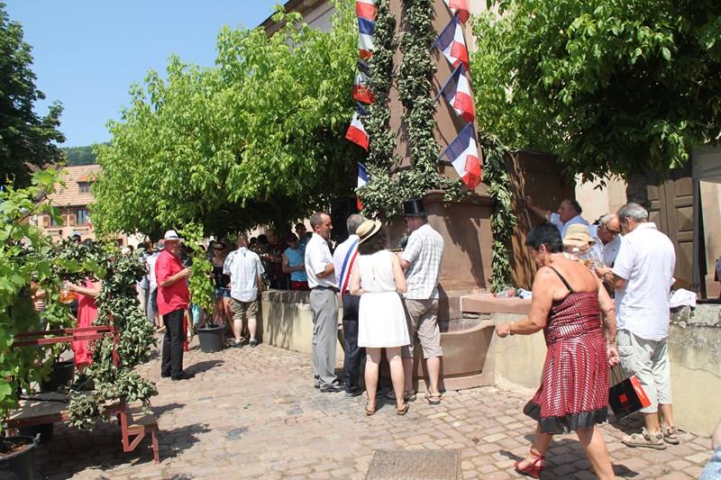 188 ème édition de la Fête de la Fontaine de Wangen, 5-6 juillet 2015 Img_9170