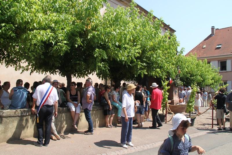 188 ème édition de la Fête de la Fontaine de Wangen, 5-6 juillet 2015 Img_9251