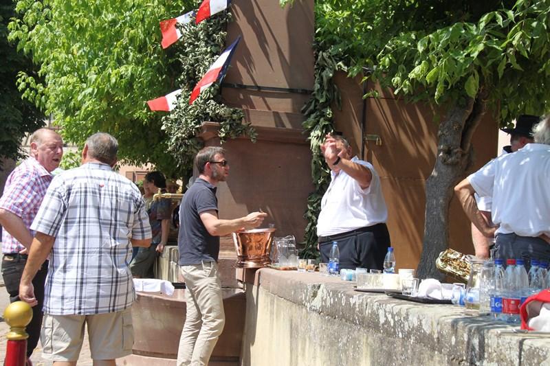 188 ème édition de la Fête de la Fontaine de Wangen, 5-6 juillet 2015 Img_9342