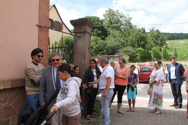 Visite de Monsieur le Député Laurent Furst le 28 juillet 2015 à Wangen Img_9919