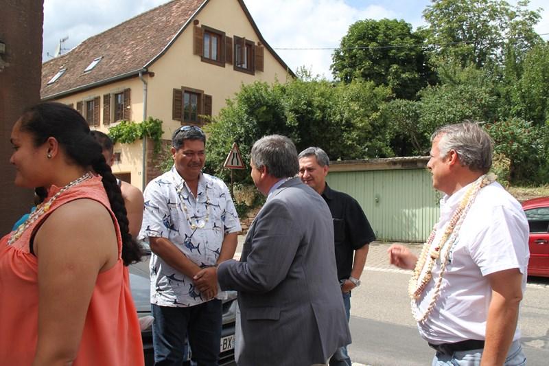Visite de Monsieur le Député Laurent Furst le 28 juillet 2015 à Wangen Img_9920