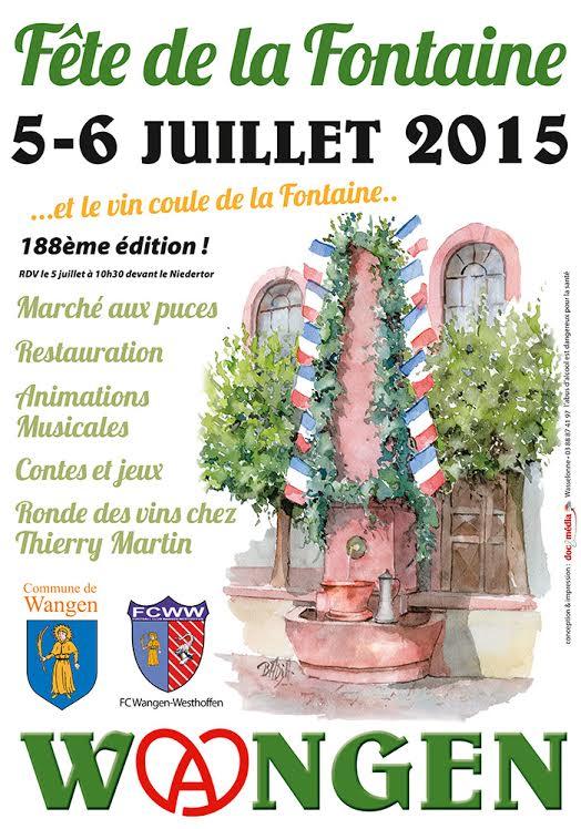 188 ème édition de la Fête de la Fontaine de Wangen, 5-6 juillet 2015 Unname11