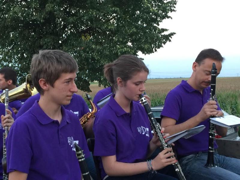 harmonie - La Musique Harmonie de Wangen à Nordheim le 14 juillet 2015 Unname58