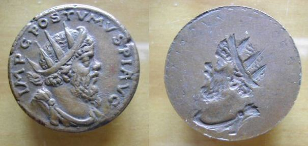 Faux, Copies , Reproductions modernes et Médailles commémoratives Postum12