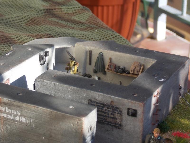 A l'ouest rien de nouveau (bunker  VERLINDEN 1/35) - Page 6 Persh100
