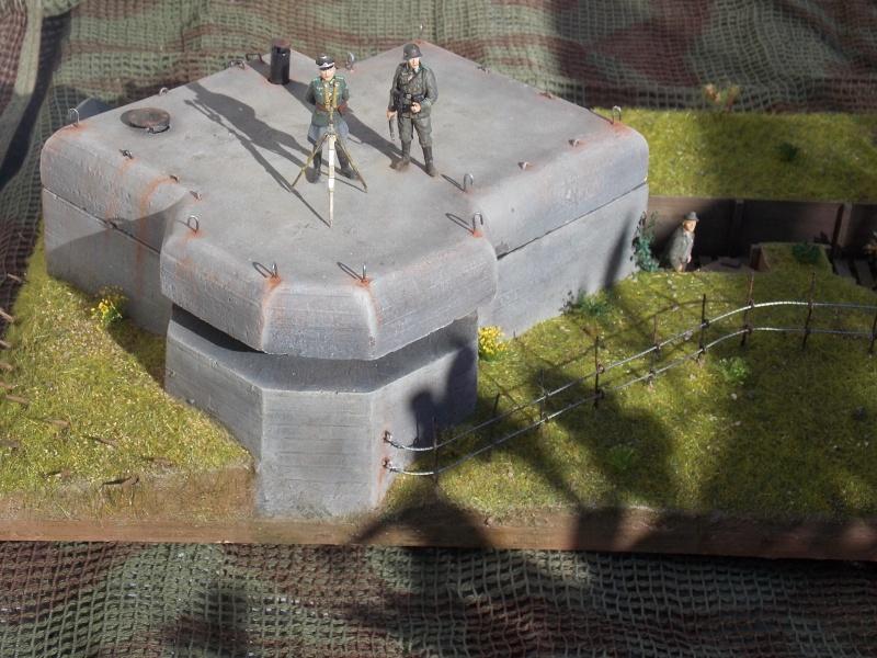 A l'ouest rien de nouveau (bunker  VERLINDEN 1/35) - Page 6 Persh105