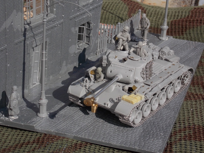 PERSHING M 26 fin de conflit 1945 (Hobby Boss 1/35) - Page 3 Persh107
