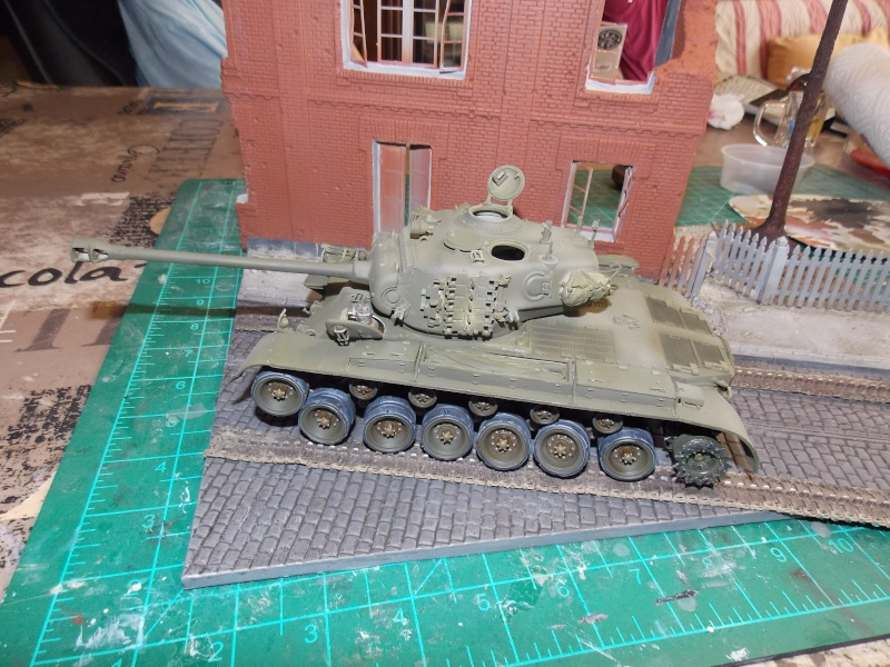 PERSHING M 26 fin de conflit 1945 (Hobby Boss 1/35) - Page 3 Persh127