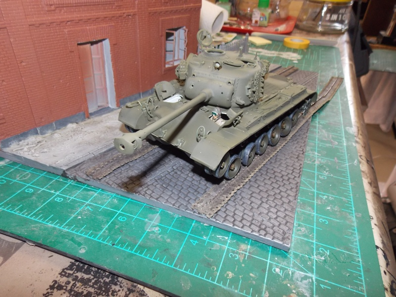 PERSHING M 26 fin de conflit 1945 (Hobby Boss 1/35) - Page 3 Persh129