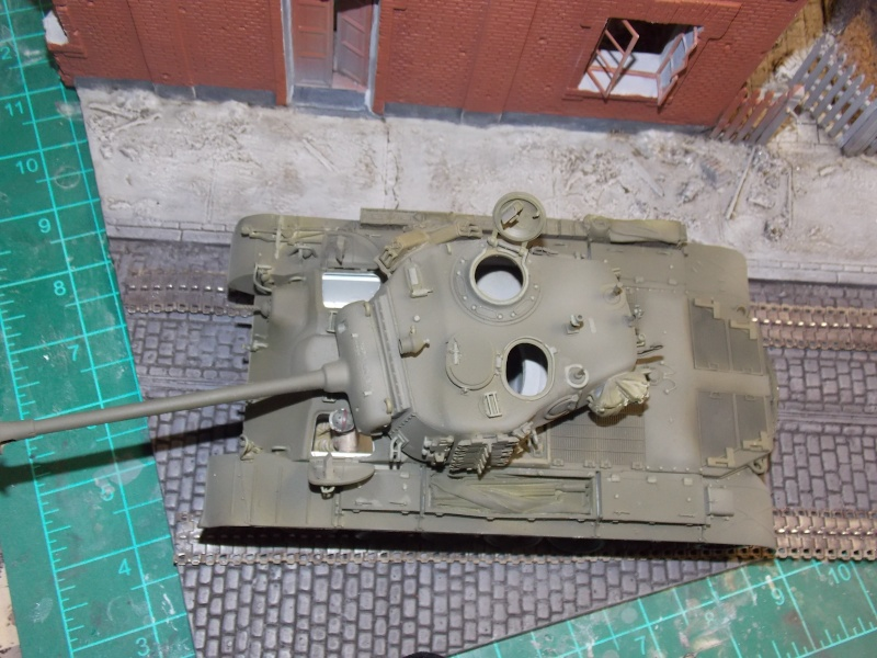 PERSHING M 26 fin de conflit 1945 (Hobby Boss 1/35) - Page 3 Persh131