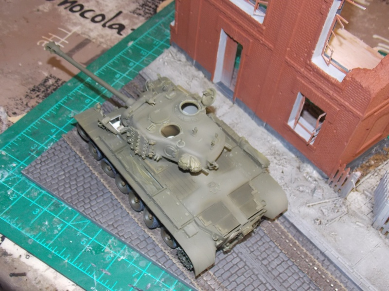PERSHING M 26 fin de conflit 1945 (Hobby Boss 1/35) - Page 3 Persh132