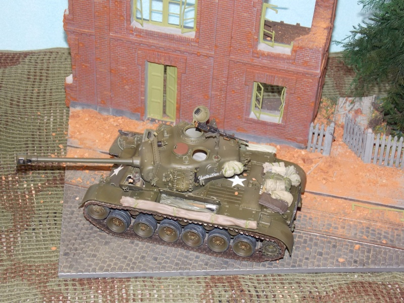 PERSHING M 26 fin de conflit 1945 (Hobby Boss 1/35) - Page 5 Persh166
