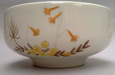 For gallery crown lynn tootle train with the 5029 Cereal Bowl Bowl_l10