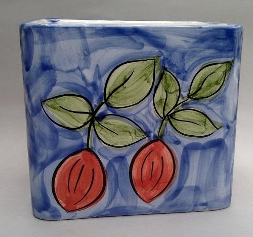 Christine Harris Tamarillo vase Christ12