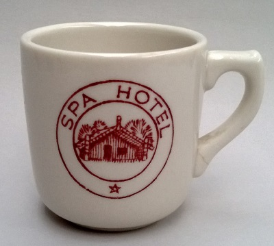 Spa Hotel demitasse cup Spa_ho10