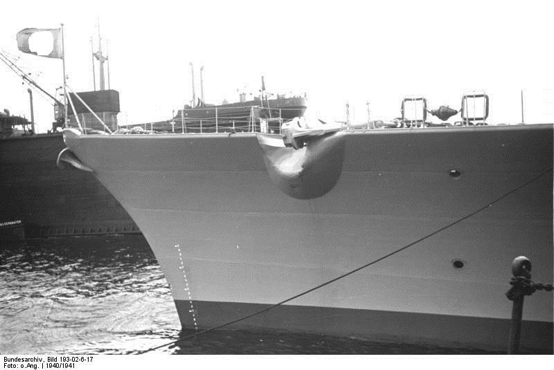 """""""BISMARCK"""" – Deutschlands größtes Schlachtschiff. 1941 – 1/200 Trumpeter, Pontos Ship_b10"""