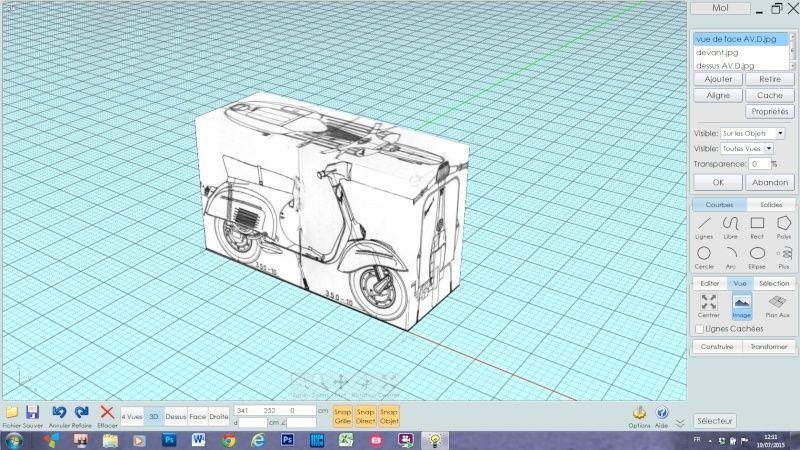 blueprint et MOIO Captur13