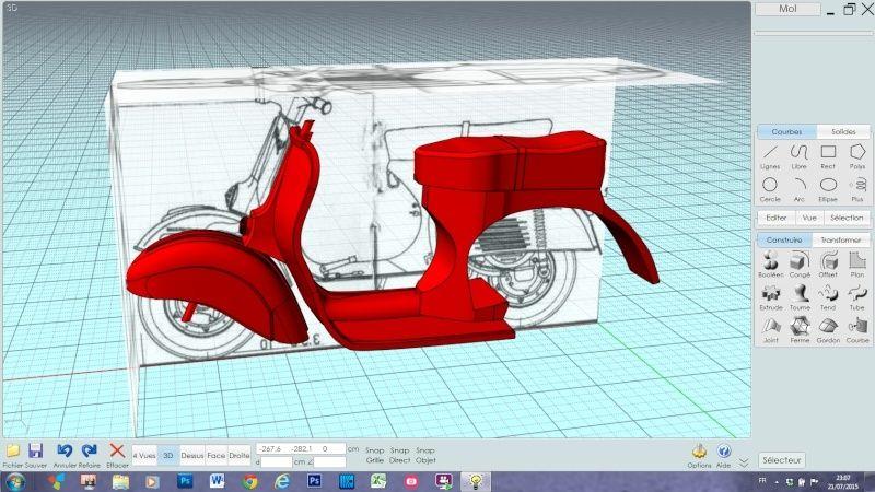 blueprint et MOIO Captur14
