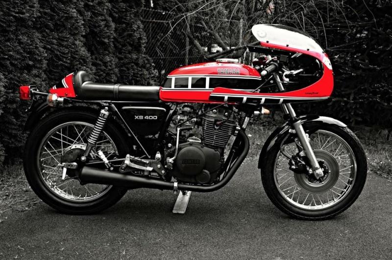 Cafe racer Yamaha xs Yam110